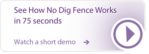 How No-Dig Fence Works