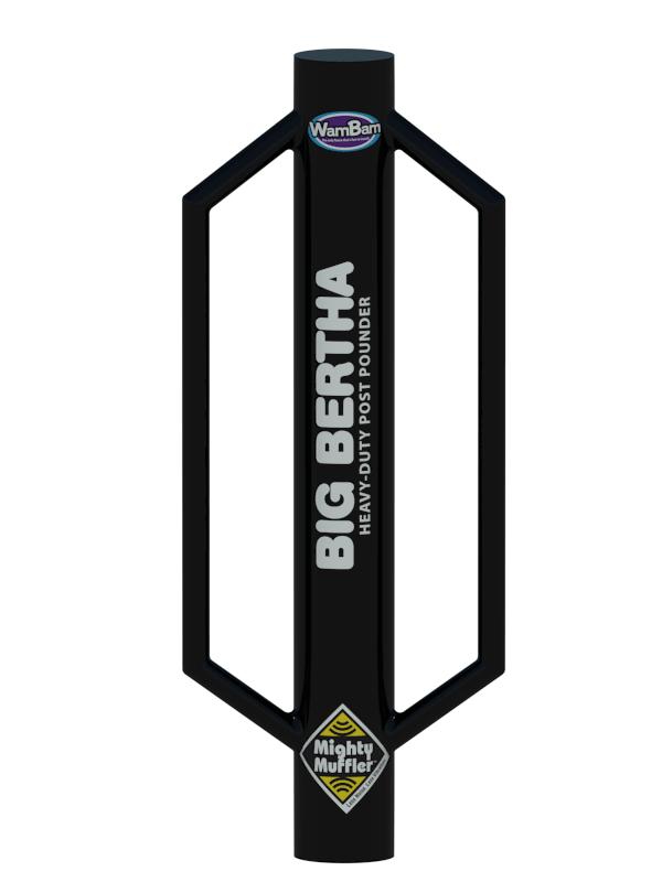 WamBam Fence Post Pounder Big Bertha