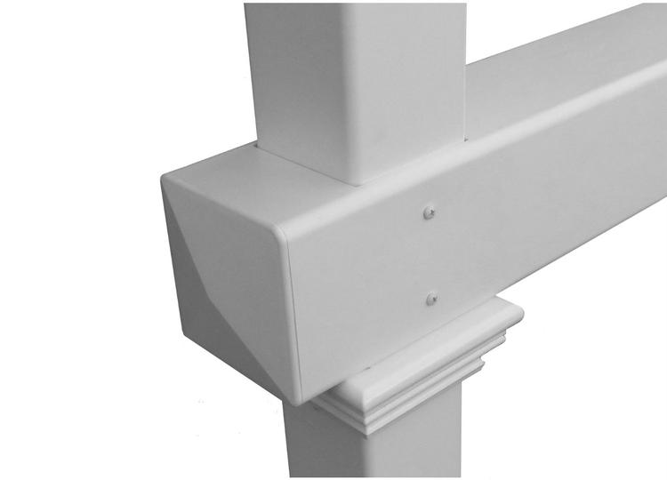 Classica Mailbox Post W No Dig Steel Pipe Anchor Kit