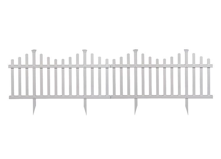 Madison Picket Garden Fence