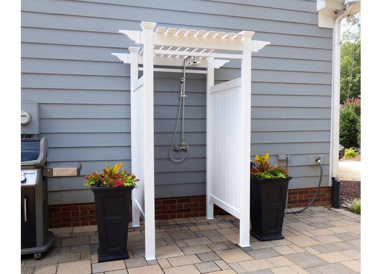 Oceanside Outdoor Shower Kit