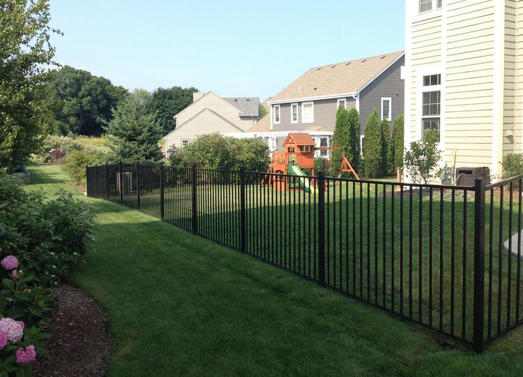 4ft H x 7ft W Slim Jim Aluminum Fence